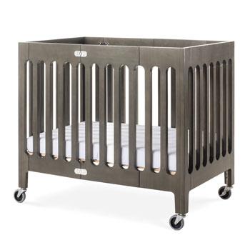 Boutique Commercial Wood Folding Crib