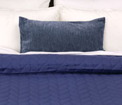 Reversible Braided Pinsonic Quilted Coverlets