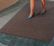 Brush-Step Entrance Matting