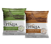 Cafe Italia Premium 4-Cup Coffee Pouches