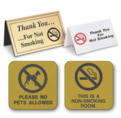 In-Room Signs