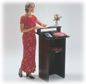 Lecterns & Greeter Stands