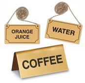 Beverage Signs