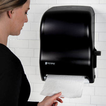 Roll Towel Dispenser; Vision Plus; Lever Pull