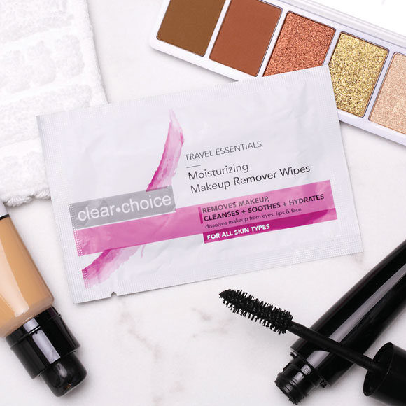 Clear Choice Makeup Remover Wipes; 500/cs.
