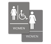 ADA Braille Signage; 6
