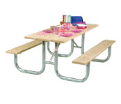 Commercial Duty Picnic Tables