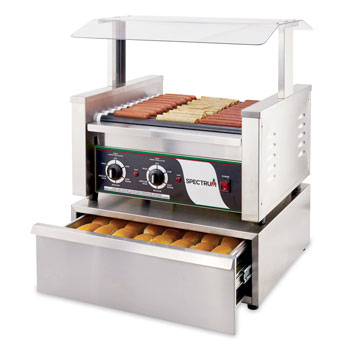 Spectrum Commercial Electric Roller Grills
