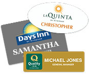Custom Printed Name Badges