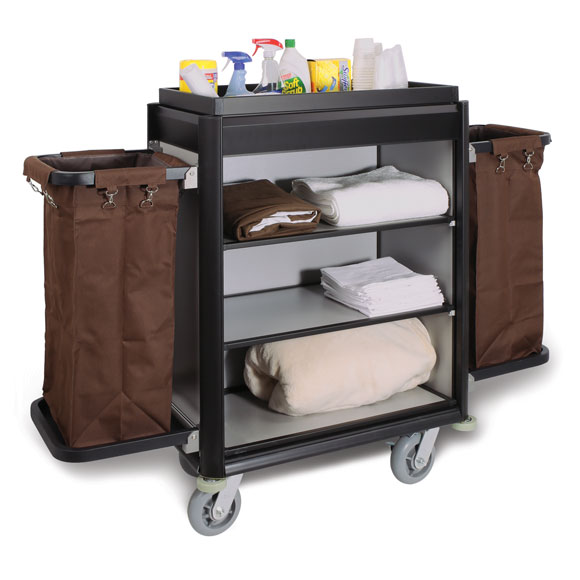 Deluxe Aluminum Housekeeping Cart