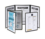 Deluxe Sewn Menu Covers