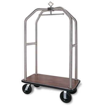 Diamond Deluxe S.S. Luggage Carrier; Brushed Chrome