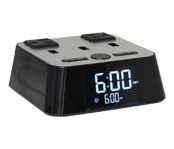 LodgMate Digital Power Station Alarm Clock