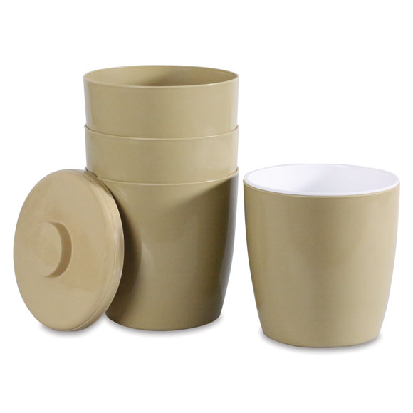 3 qt. Round Ice Buckets, Lids and Liners