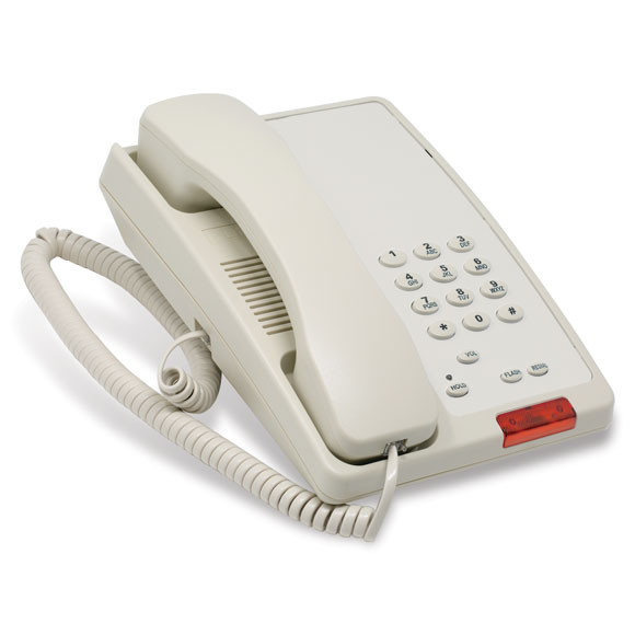 Electronic Hotel Room Telephones
