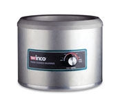 Winco 11 qt. Round Food Cooker/Warmer