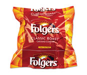 Folger's Regular Coffee, 12-Cup Filter Pouch; 160/cs.