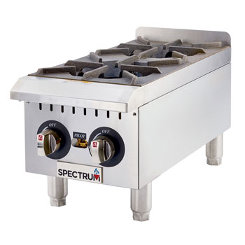 Spectrum Gas Countertop Hot Plates