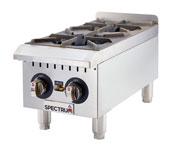 Spectrum Gas Countertop Hot Plates