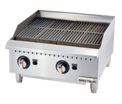 Spectrum Gas Countertop Charbroilers