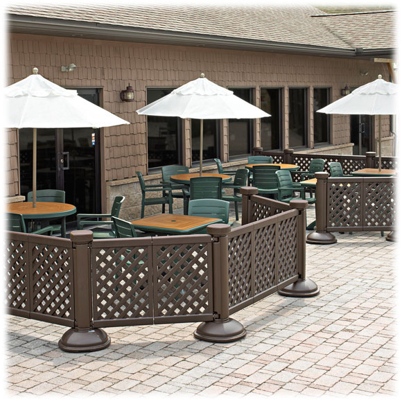 Grosfillex Portable Patio Fence