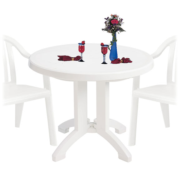 Grosfillex Vega Folding Table National Hospitality