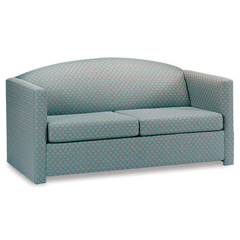 Square Arm Sleeper Sofa- Full Size