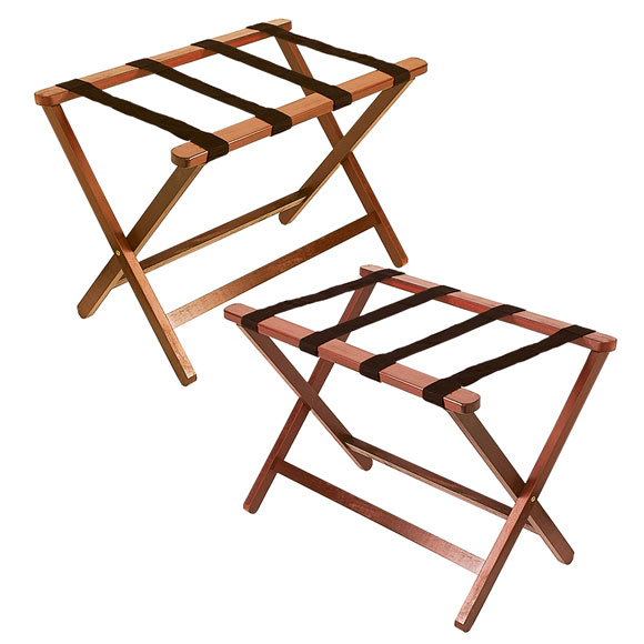 LodgMate Hardwood Luggage Racks