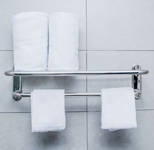 Hotel Towel Bars & Shelves