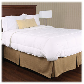 Hotel Weighted Bed Skirts 100% Polyester