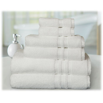 HygroCotton 100% Cotton White Luxury Towels