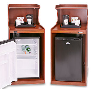 In-Room Microwave/ Refrigerator/ Cabinet Combo