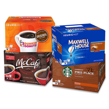 Assorted K-Cups for K-Cup Brewers