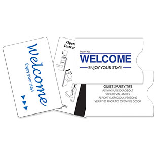 Key Cards & Envelopes