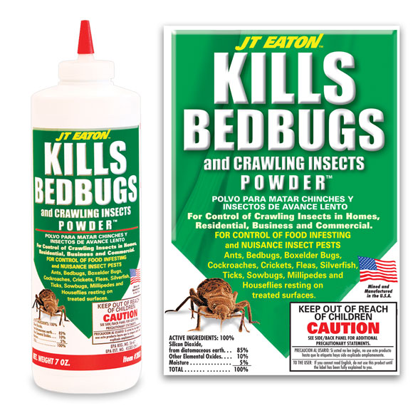 JT Eaton 7 oz. Kills Bedbugs/Crawling Insects Powder