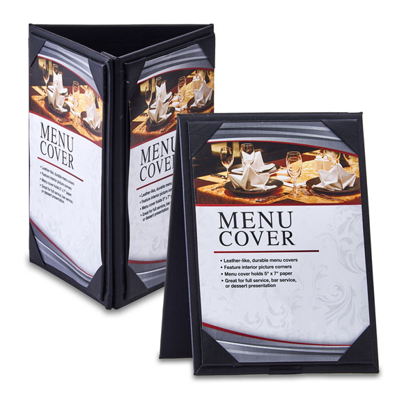 Leatherette Menu Tents