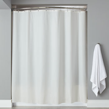 LodgMate Heavy Duty Vinyl Shower Curtains