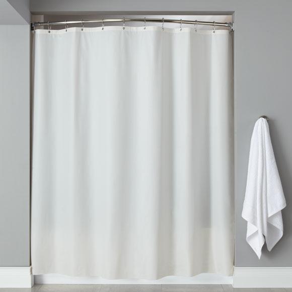 LodgMate Heavy Duty Vinyl Shower Curtains