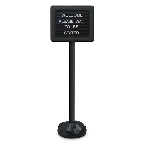 Multi-Purpose Pedestal Sign