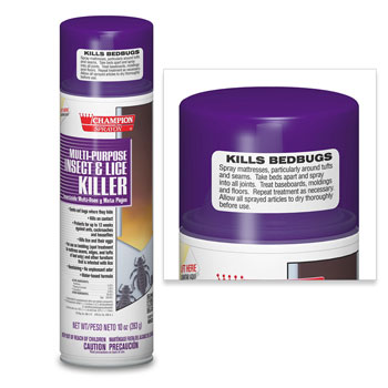 10 oz. Multi-Purpose Insect & Bed Bug Killer; 12/cs.