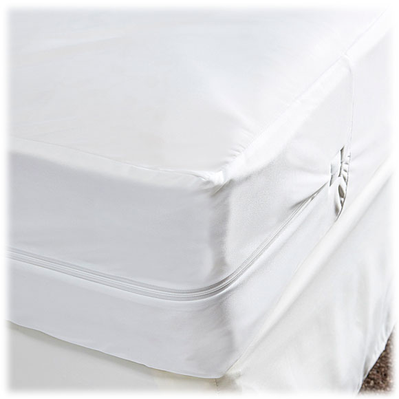 Bed Bug Proof Stretch Polyester Zippered Mattress Covers