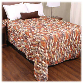 Trevira Quilted Polyester Bedspreads - BrushStroke