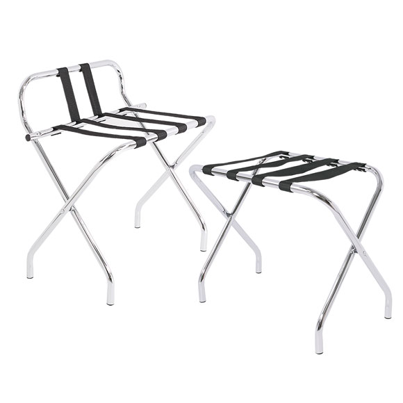 Chrome Luggage Rack Collection