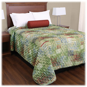 Trevira Quilted Polyester Bedspreads - CityScape
