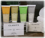 Clarity Soaps & Amenity Collection