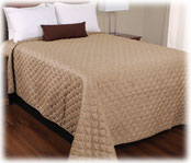 Jacquard Quilted Polyester Bedspreads - Dots