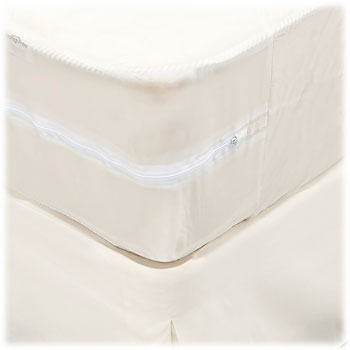LodgMate Vinyl Zippered Mattress Covers
