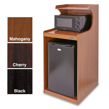 In-Room Microwave & Refrigerator Cabinet