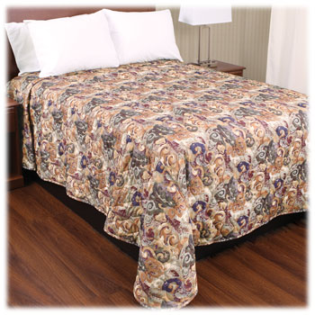 Trevira Quilted Polyester Bedspreads Symphony II