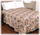 Trevira Quilted Polyester Bedspreads; Symphony II